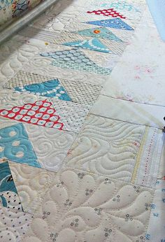 WIP WED - Quilting