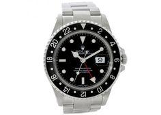 Rolex GMT Master II Mens Steel Watch 16710
