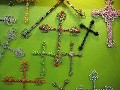Beautiful Beaded Crosses