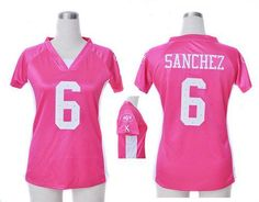 Nike Jets  6 Mark Sanchez Pink Draft Him Name   Number Top Women s  Embroidered NFL Elite Jersey! Only  20.50USD. Chelsi May · New York Jets a039c29a0