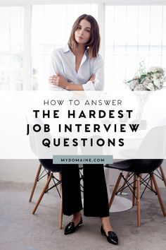 Is EXACTLY How to Answer 5 Impossible Interview Questions Have a job interview coming up? These tips will help you land a job offerHave a job interview coming up? These tips will help you land a job offer Interview Skills, Interview Questions And Answers, Job Interview Tips, Job Interviews, Job Interview Outfits For Women, Teaching Interview Outfit, Interview Tips Weaknesses, Difficult Interview Questions, Career Advice