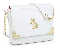 Think Geek Magical Unicorn Bag ThinkGeek Unicorn And Glitter, White Unicorn, Gyaru, Cute Purses, Purses And Bags, Unicorn Fashion, Unicorn Outfit, Magical Unicorn, Cute Bags