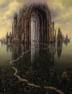 Cathedral - Jacek Yerka
