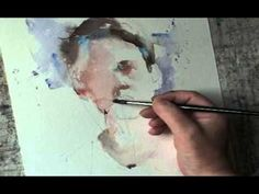 ▶ Young boy Watercolour by Roger Simpson - YouTube