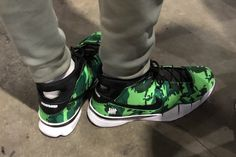202f58af7a1c5 Giannis Antetokounmpo Spotted Sporting a Bright Green UNDEFEATED x Nike  Kobe 1