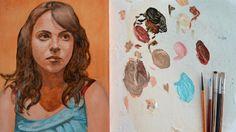 Pintar con veladuras 1. Retrato. Técnica grandes maestros. Curso de pint...