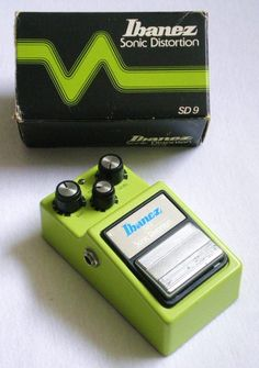 Ibanez SD9 Distortion Guitar Effects Pedals, Ibanez, Distortion, My Dad, Guitars, Musicals, Dads, The Unit, Kit