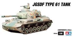 JGSDF Type 61 Tank