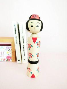 Japanese kokeshi doll, new