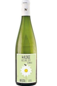 #Alsace riesling Vincent Fleith vin étiquette
