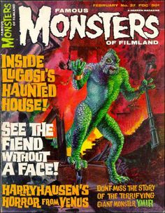 Famous Monsters of Filmland - issue #37 - 1966 - Ray Harryhausen