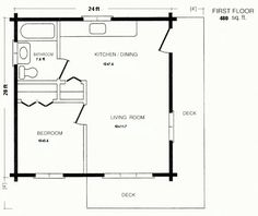 20 x 20 floor plans - Google Search