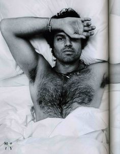 Mark Ruffalo-scores extra points b/c he's not afraid to be photographed with chest hair.