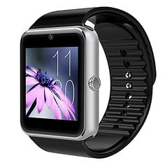 KANSA Sports 2017 Bluetooth Smart Watch GT08 for iPhone 7 plus/7/6s/6 and 4.2 Android or Above Smartphones,With Camera SIM Card Slot Sport Activity Wearable Device Sport Clock (Silver) -  http://www.wahmmo.com/kansa-sports-2017-bluetooth-smart-watch-gt08-for-iphone-7-plus76s6-and-4-2-android-or-above-smartphoneswith-camera-sim-card-slot-sport-activity-wearable-device-sport-clock-silver/ -  - WAHMMO