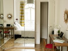 More interior inspiration on www.ringthebelle.com home / interieur / inspiration / paris / decoration / lit / bedroom / chambre #ringthebelle / #storystore