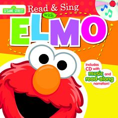 Read & Sing with Elmo!      Read & Sing Along with Elmo, Big Bird, Cookie Monster, and the rest of your favorite Sesame Street Friends. Each book includes a music CD featuring the story read word for word with and without page turn cues and fun songs! Perfect for at home and in the car!  $4.99