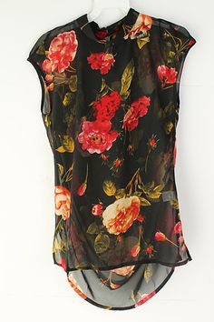 Jet Blake Chiffon Top on Emma Stine Limited ... in black too!