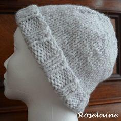 ccf4c3cd75 Comment adapter un bonnet tricoté à son tour de tête Tuto du @TricotTouch  #roselaine