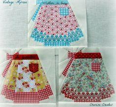 Vintage Apron Quilt Pattern