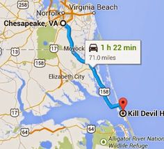 Anyone who has driven to the Outer Banks on a Saturday knows how bad the traffic can be during peak season. Just recently I heard a report saying the traffic was backed up 20 miles behind the Wright Memorial Bridge. Everyone knows where the problem is. It's the intersection in Kitty Hawk that takes you … Continue reading How to Avoid the Traffic on Your Drive to the Outer Banks