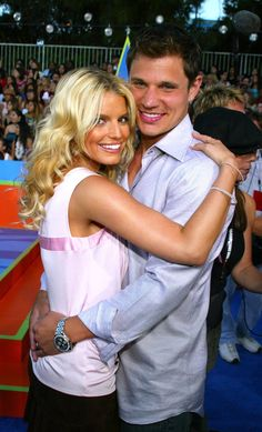 Pin for Later: Go Back in Time For Halloween With These Hella Cool 2000s Costumes Jessica Simpson and Nick Lachey