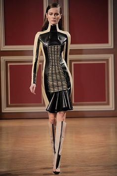 """The Autumn/Winter 2010/11 shows at Paris Fashion Week come - for better or worse - leather bound. Also, """"tribe"""" and """"tribal"""" are words that often get tossed about in reference to this season's collections."""