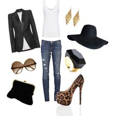 minus the platform heels (make'm flats and we're talkin), ring, earrings, hat, and clutch - everything else yes please