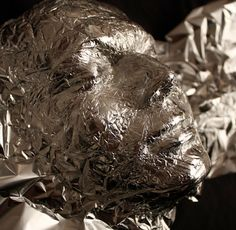 Tin Foil masks....great