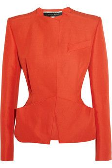 Roland Mouret Advina structured woven jacket