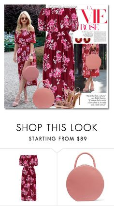 """red & pink"" by lisamichele-cdxci ❤ liked on Polyvore featuring Mansur Gavriel, Katerina Makriyianni, BloggerStyle, atlanticpacific and blaireadie"
