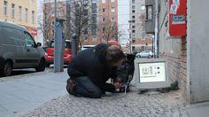 Highscreen - public intervention (by Aram Bartholl) Artist Portfolio, Public, Street View, Culture, Urban