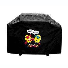 BBQ cover custom made outdoor indoor Lemon Soda Funny