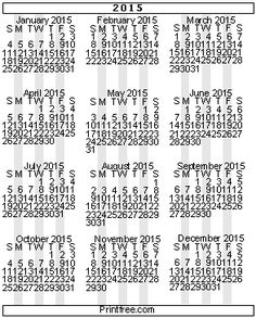 Love this site - so many options for printing calendars - run it through the printer again to add a heading, etc