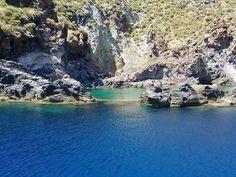 Vulcano isole Eolie, Piscina di Venere. Sicilia