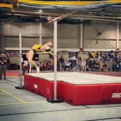 WVU athlete! Photo cred: @k_knab  That's my girl Syd doin work