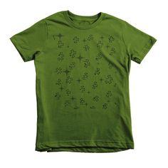 A Starry Night Short Sleeve Kids Children 2-6 yr old T-shirt Tee