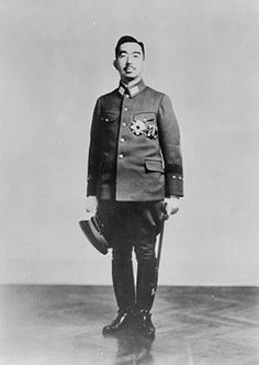 "Emperor Hirohito, posthumously known as Emperor Showa, in December 1943-October 26, 1943 - Emperor Hirohito states his country's situation is now ""truly grave."""