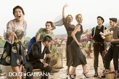 Love the layouts for this campaign dolce gabbana spring summer campaign 6 More Photos of Dolce & Gabbanas Spring/Summer 2014 Ads