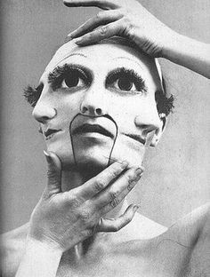 3 Faced mask. Am I the only one freaked out by this?