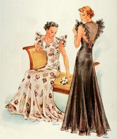 McCall 8870 | 1936 pattern