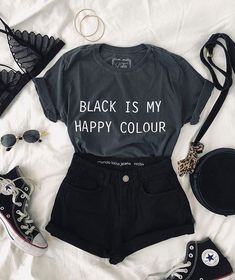 Cute Comfy Outfits, Cute Summer Outfits, Edgy Outfits, Teen Fashion Outfits, Outfits For Teens, Fashion Ideas, Preteen Fashion, Nice Outfits, Fashion Fashion