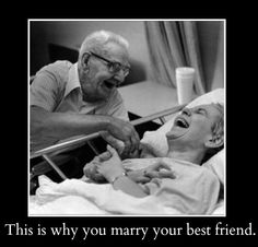 This is why you marry your best friend.