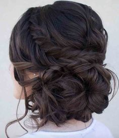 Loose serpentine braids make this updo standout. Hair & Makeup by Steph, Wedding Hairstyles, Hair Updos Loose serpentine braids make this updo standout. Hair & Makeup by Steph, Wedding Hairstyles, Hair Updos Fall Wedding Hairstyles, Fancy Hairstyles, Bridal Hairstyles, Hairstyle Ideas, Quince Hairstyles, Latest Hairstyles, Hairstyle Wedding, Brunette Hairstyles, Beautiful Hairstyles