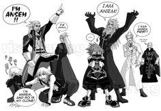 Sora Kingdom Hearts Lineart : Image via we heart it aqua kingdomhearts sora riku kairi