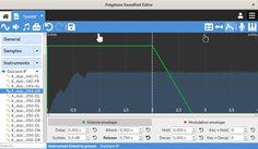 Soundfont editor. Linux, Mac, Windows.