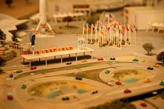 Disneyland 1955 Model Close-ups - Imagineering Disney -
