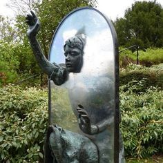 """Alice Through The Looking Glass""  Guildford Castle - Secret garden, Guildford, United Kingdom  photo © Stuart Chalmers"