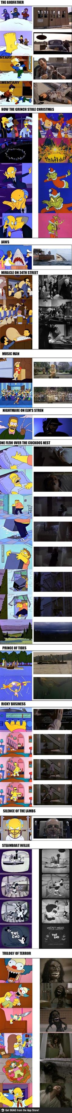 The simpsons movie parodies (are f**king cool) Pt. 2