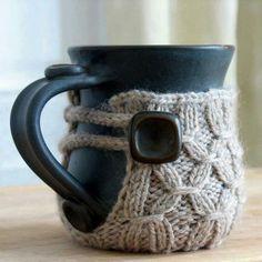 New mug hug style?   Adapt to wet felt?
