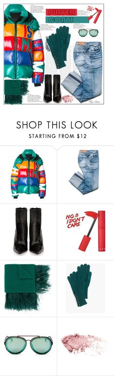 """Puffer coat, 3"" by anne-977 ❤ liked on Polyvore featuring Faith Connexion, N°21, J.Crew, 3.1 Phillip Lim, polyvorecontest and puffercoat"